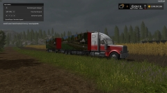 Ahelmer b.v Barrelcore met laadbak en laadklep + trailer