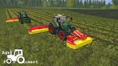 Triple mowing! :)