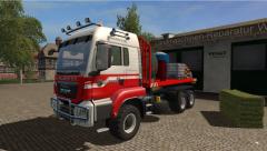 AR vrachtwagen maar geskint naar a helmer van nld