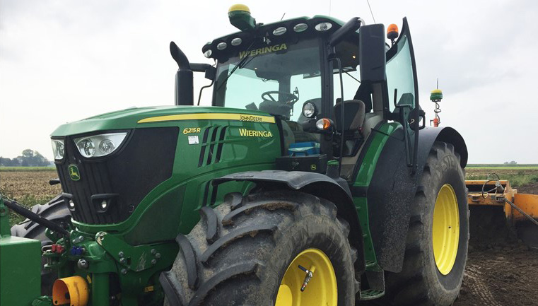 Dieven azen op gps-systemen tractoren
