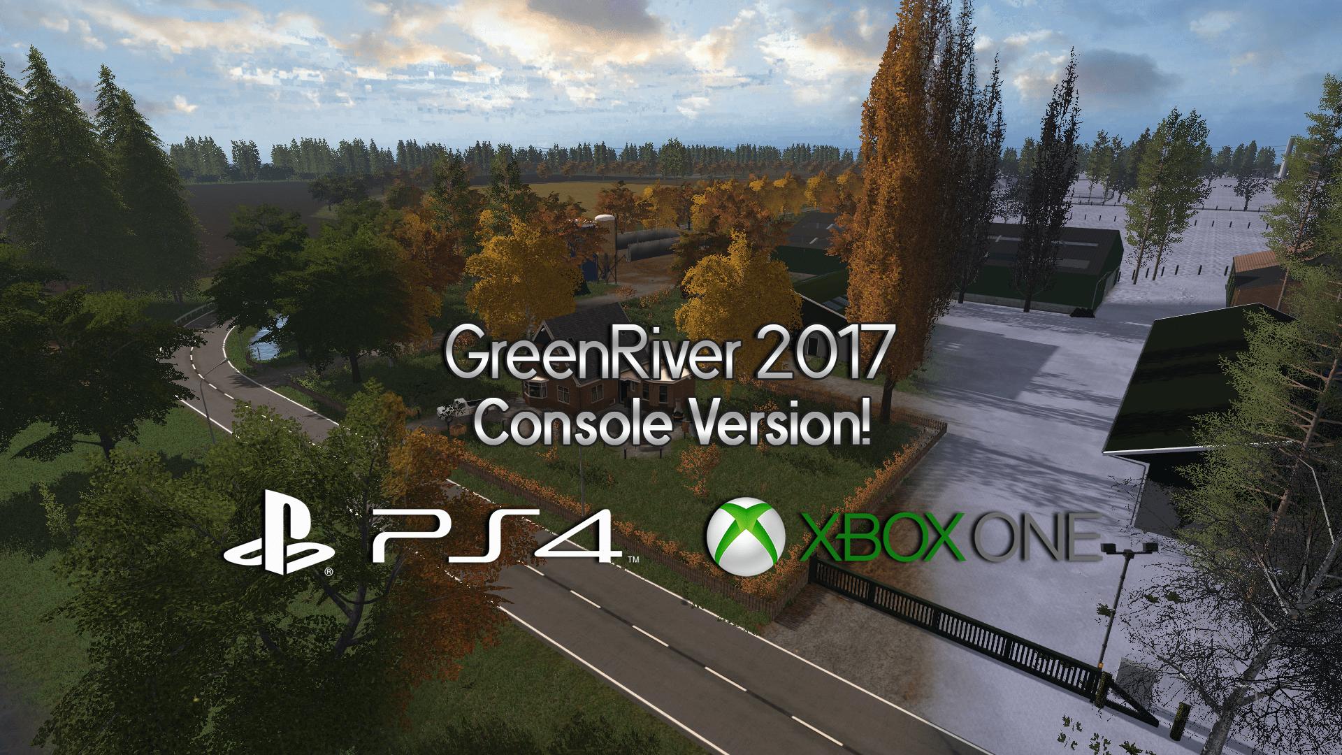 GreenRiver 2017 nu ook op CONSOLE!