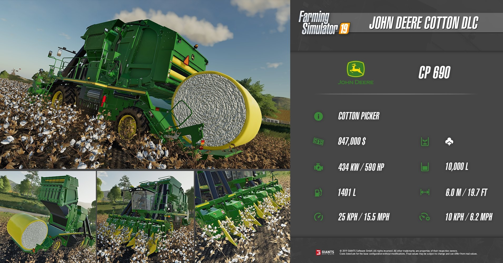 [DLC] John Deere Cotton